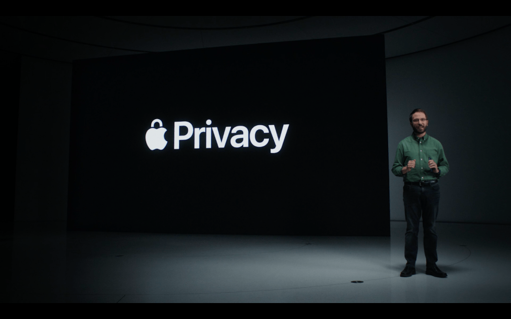 Apple announced Privacy reports with ios15